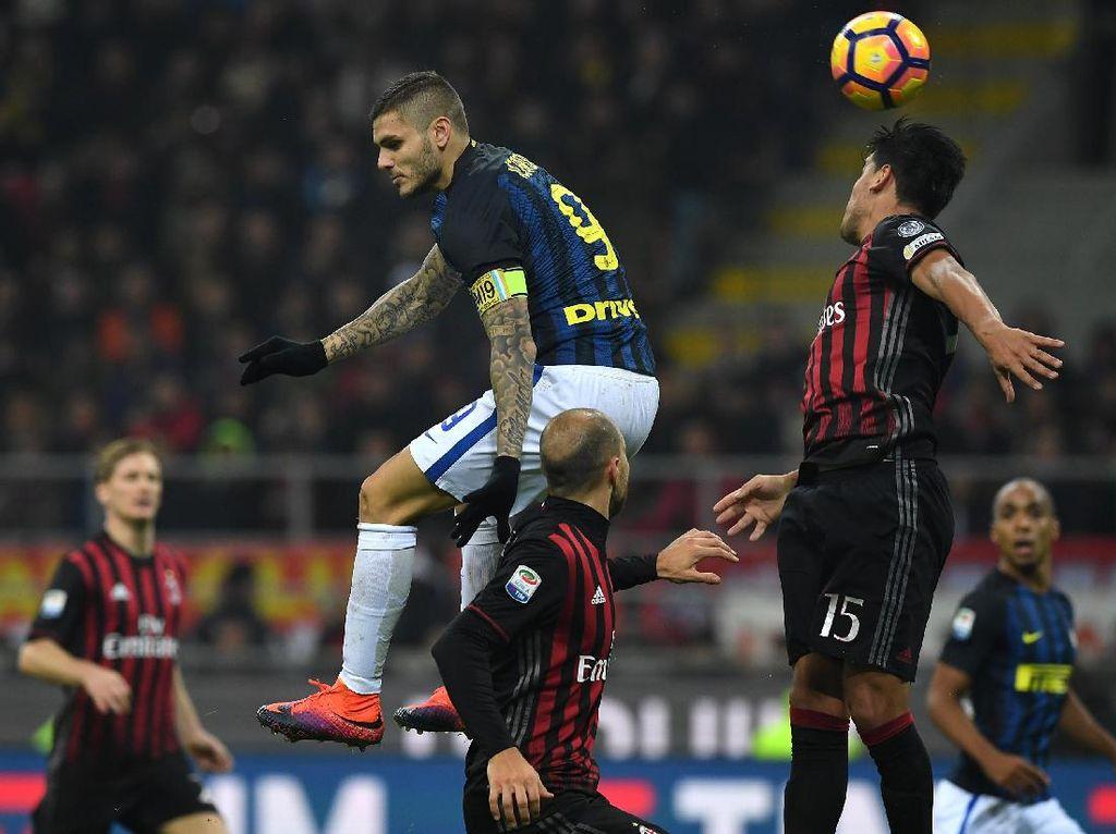 Misi Inter di Laga Derby: Menang dan Salip Milan