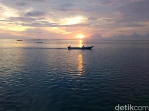 Sunset Romantis dari Wakatobi