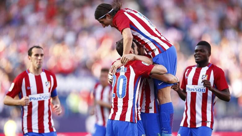 Diwarnai Dua Penalti yang Gagal, Atletico Benamkan Osasuna 3-0