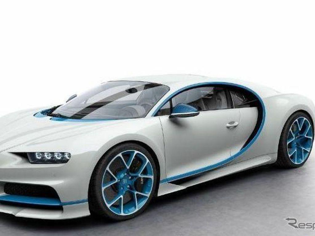 Ada Satu WNI Punya Bugatti Chiron