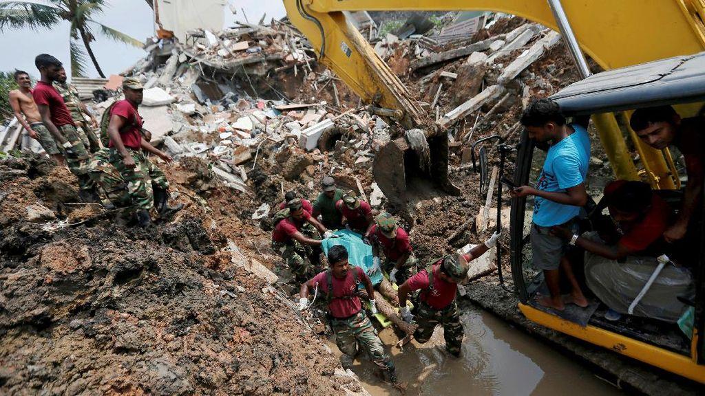 Longsor di Tempat Pembuangan Sampah Sri Lanka, 19 Orang Tewas