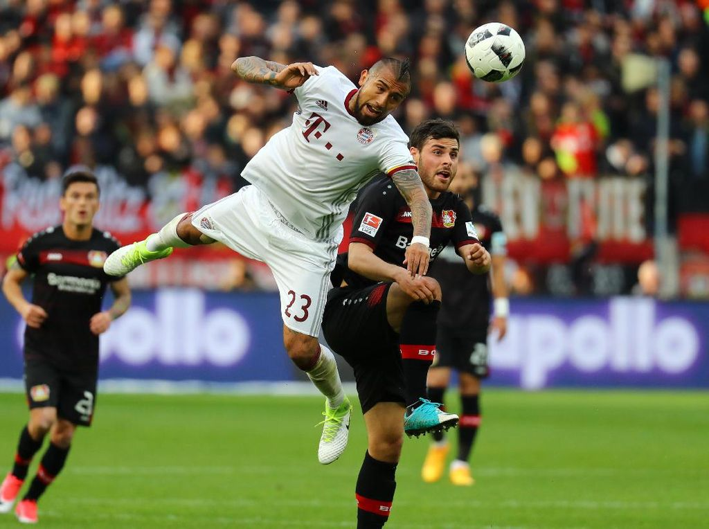 Bayern Ditahan Imbang Leverkusen