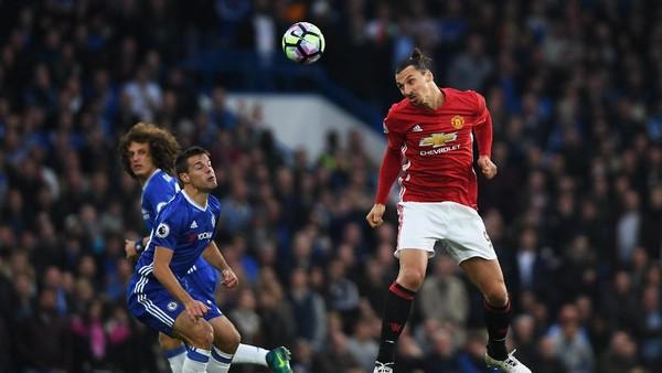 Ditunggu Gol-Gol Ibrahimovic dan Penyerang MU ke Gawang Chelsea