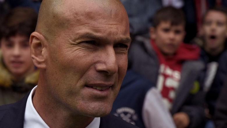Zidane: Berjuang Sampai Akhir Ada dalam DNA Madrid