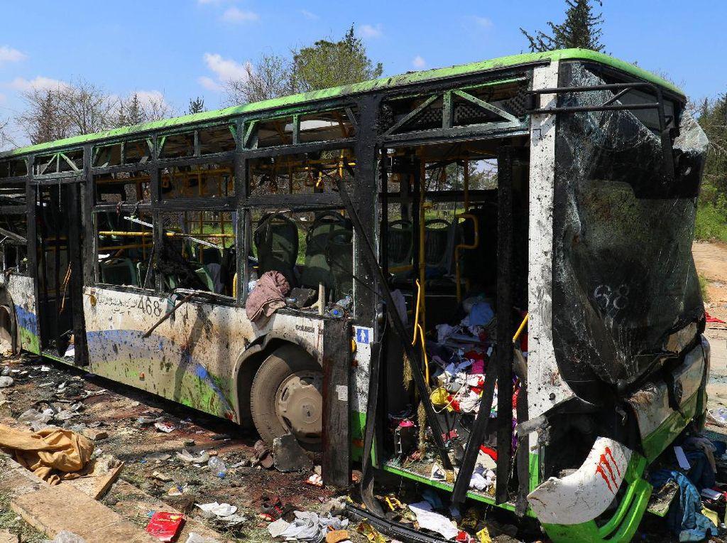 Ledakan Bom Mobil di Suriah Korban Tewas Bertambah Jadi 126 Orang