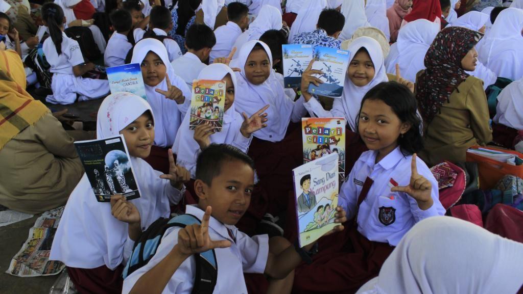 3.760 Pelajar di Kabupaten Bandung Meriahkan Rampak Baca