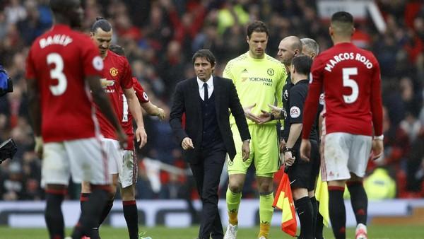 Conte: Kekalahan Chelsea Tanggung Jawabku, MU Pantas Menang