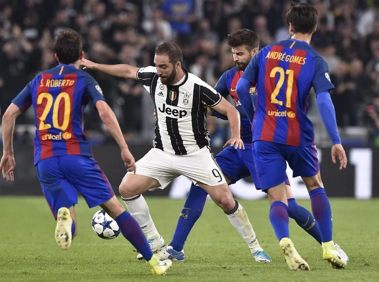 Pique: Barca Bakal Comeback atas Juve, Lalu Kalahkan Madrid
