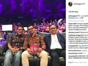 Syuting Bareng Ayu Ting Ting, Netizen Tanyakan Cincin Nikah Raffi Ahmad