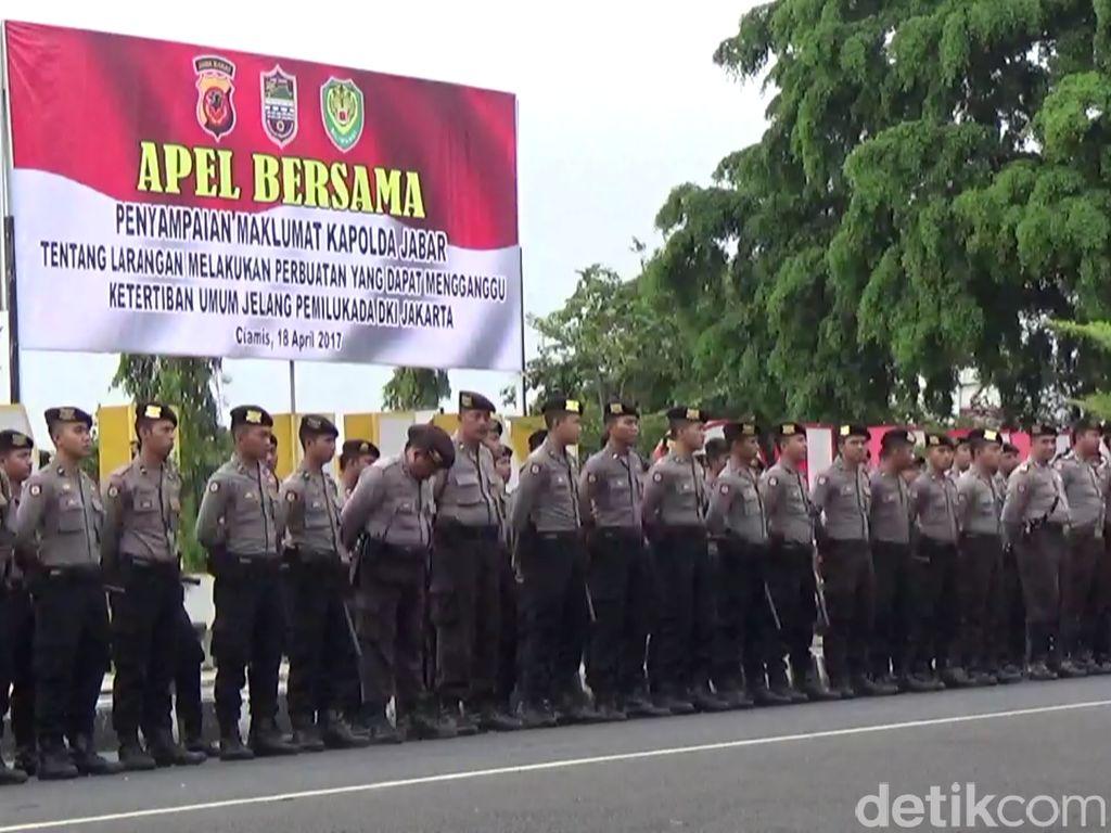 Ada Kelompok yang akan ke Jakarta, Polisi Razia Kendaraan di Ciamis