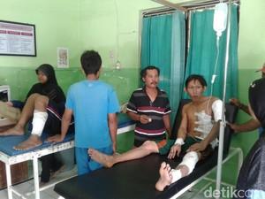 Mesin Oven Pabrik Bahan Pakan Ternak Meledak, 5 Pekerja Terluka