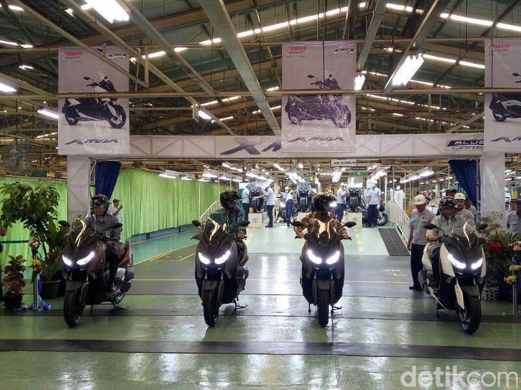 Ekspor Sepeda Motor Melonjak