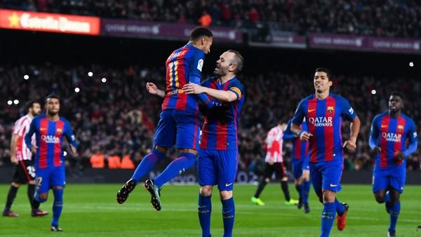 Iniesta Menantikan Malam Hebat di Camp Nou