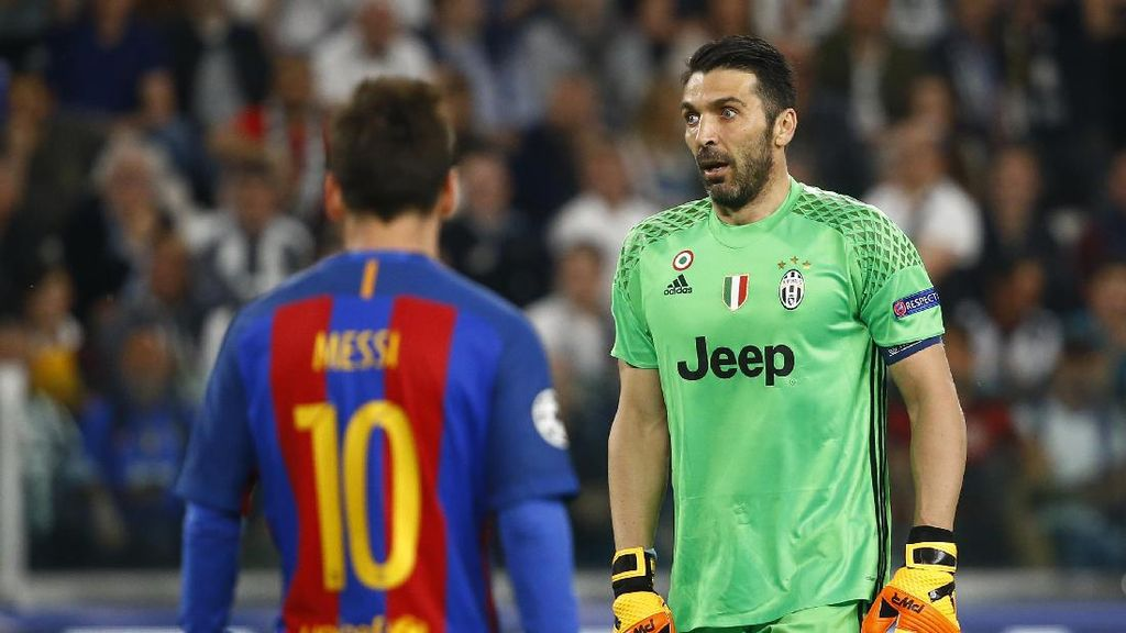 Messi vs Buffon (Lagi)