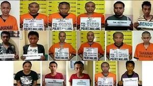 Dua dari Lima Otak Kaburnya Tahanan Polres Malang Masih Buron