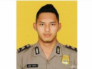 Gariz Luis, Mantan Artis yang Jadi Polisi Ganteng di Bandung