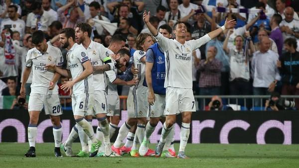 Rekor Baru di Balik Lolosnya Madrid ke Semifinal