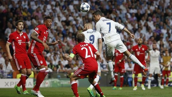 Jangan Bahas Wasit, Madrid-Bayern Memang Seru Kok!