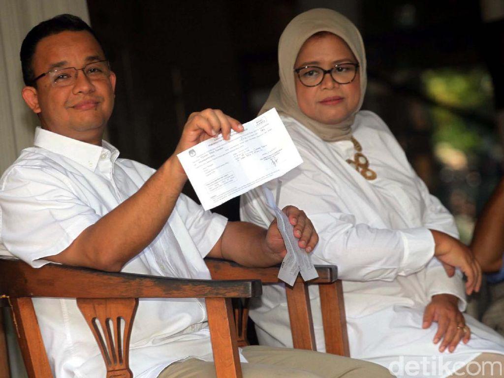 Ditemani Istri, Anies Terbang ke Singapura Jenguk Ani Yudhoyono