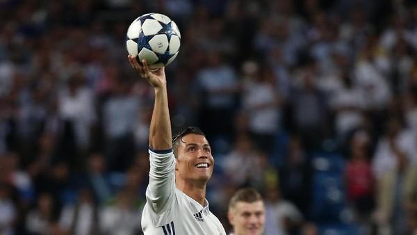 Ronaldo Sudah 100 Gol di Liga Champions