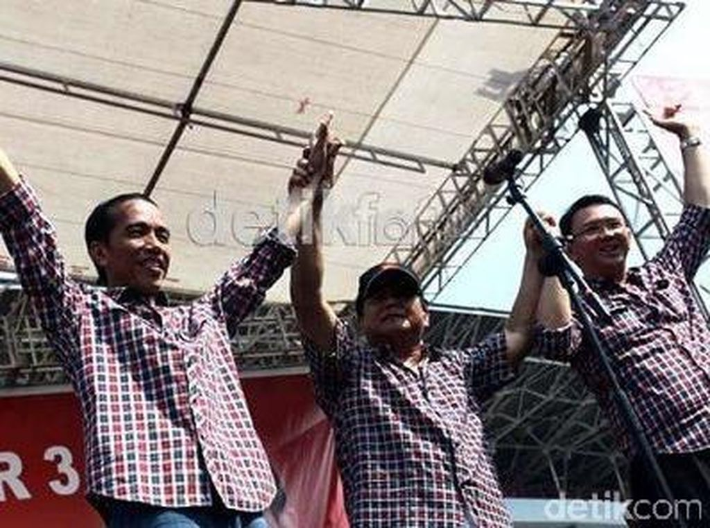 PDIP Ungkap Trik Prabowo Tunggangi Jokowi-Ahok di 2012