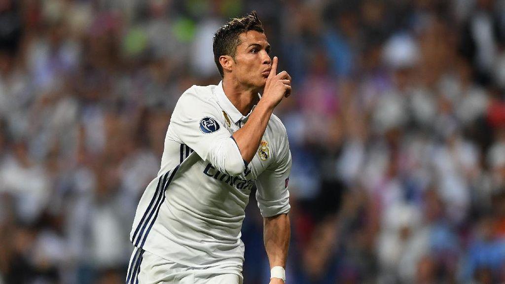 Arti Isyarat Telunjuk di Bibir Ronaldo