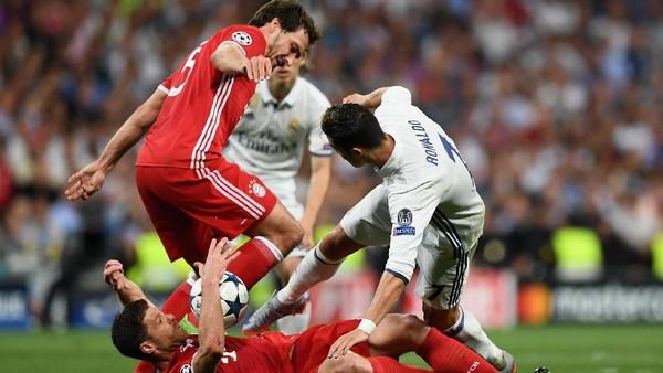 Bayern Ungguli Madrid 2-1, Laga Berlanjut ke <i>Extra Time</i>