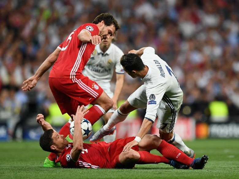 Bayern Ungguli Madrid 2-1, Laga Berlanjut ke Extra Time
