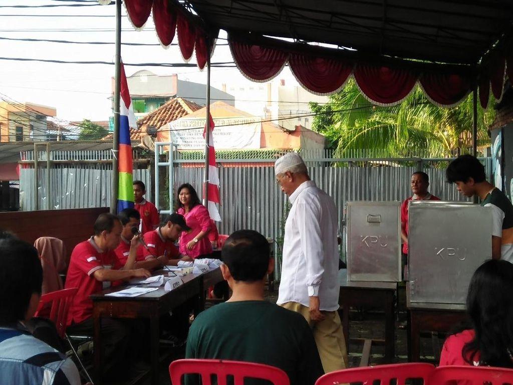 Lokasi Sempit, TPS Habib Rizieq Dipindah