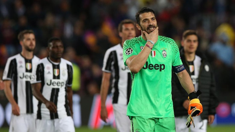Buffon Tambah Koleksi Clean Sheet