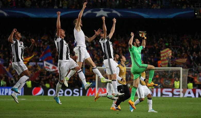 Singkirkan Barcelona, Juventus ke Semifinal Liga Champions