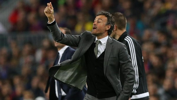 Enrique: Barca Pantas Menang Hari Ini, tapi Juventus Pantas Lolos