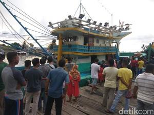 Kapal Nelayan di Aceh Terbakar, 3 Orang Luka-luka