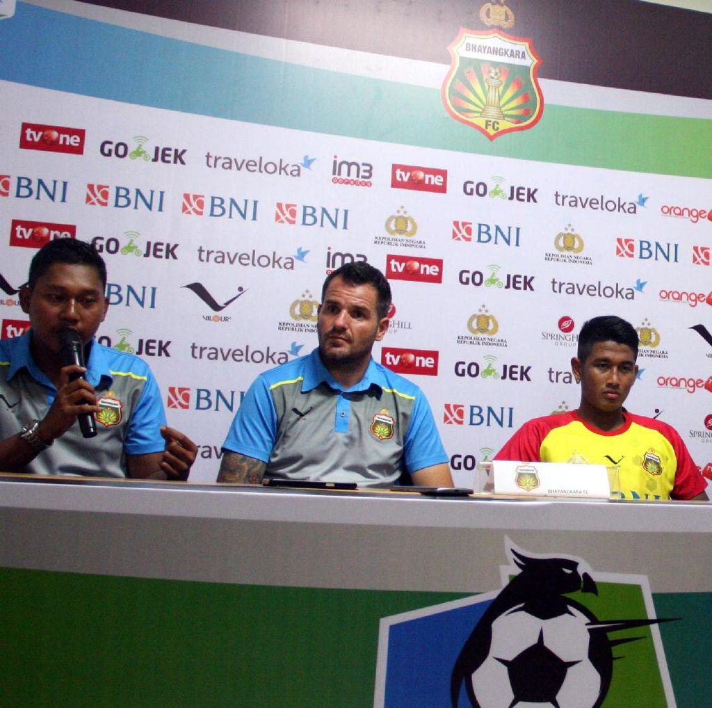 Raih Kemenangan, tapi Pelatih Bhayangkara FC Akui Perseru Lawan yang Berat