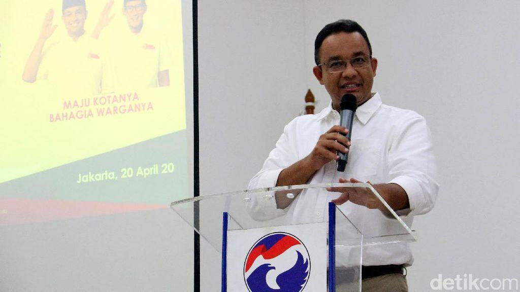 Soal Pembahasan APBD Perubahan, Anies: Masih Sangat Awal