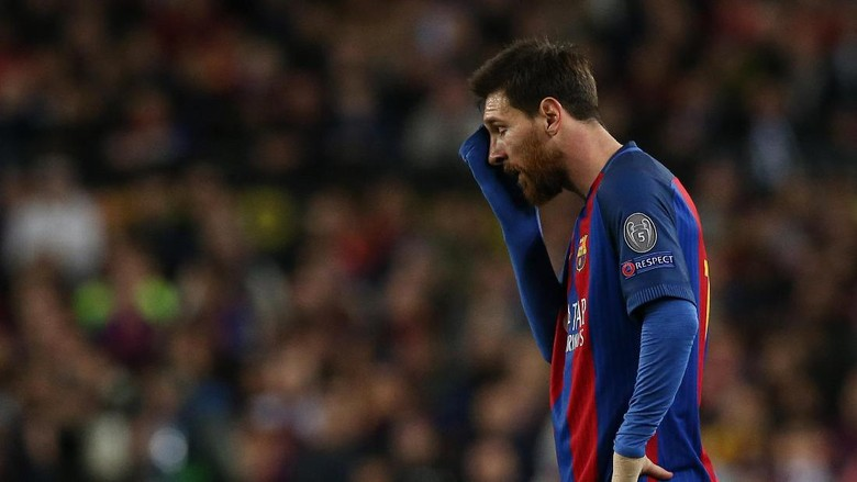 Suarez-Neymar Dikritik, Messi Oke tapi Tak Membahayakan Buffon