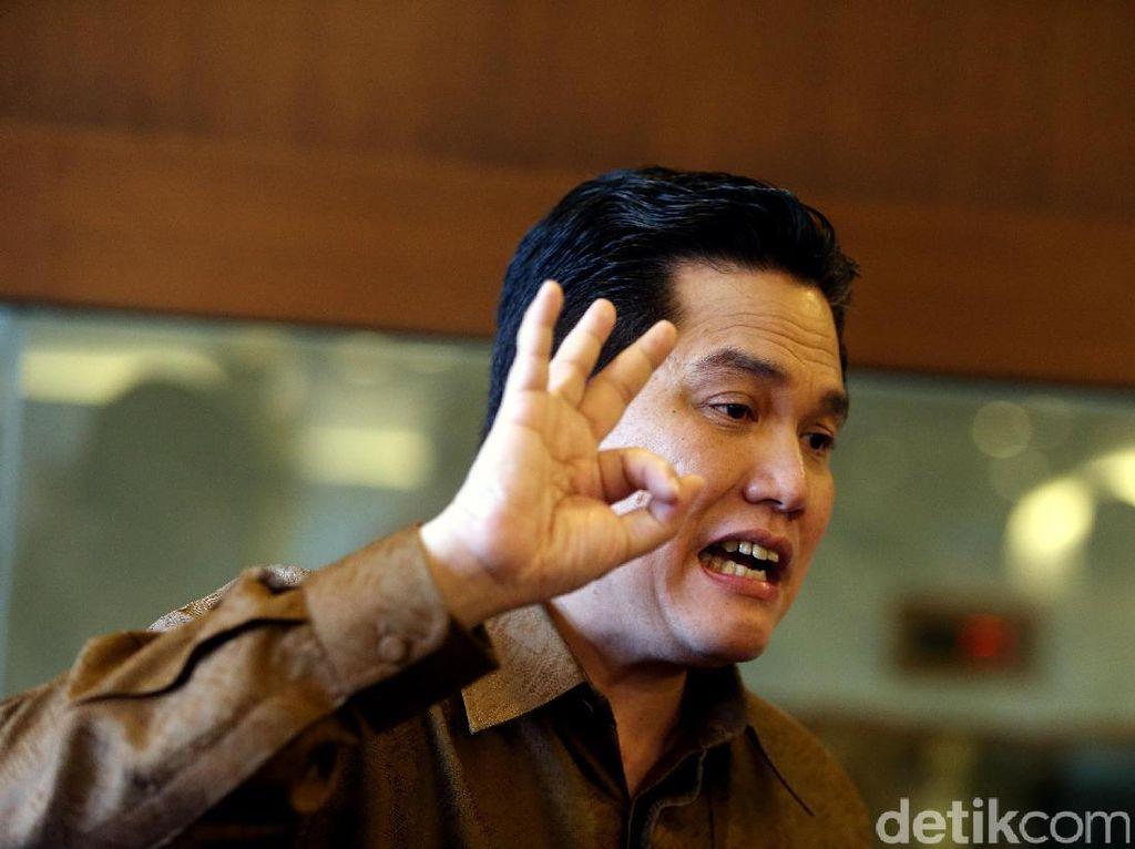 Saham Perusahaan Erick Thohir Bangun dari Zona Gocap