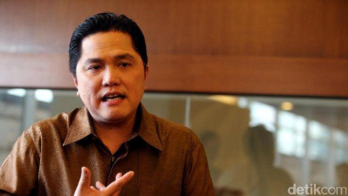 Menteri BUMN Erick Thohir/Foto: Rengga Sancaya