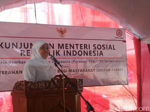 Cek Dampak Sosial Pabrik Semen Rembang, Mensos: <I>Seeing is Believing</I>