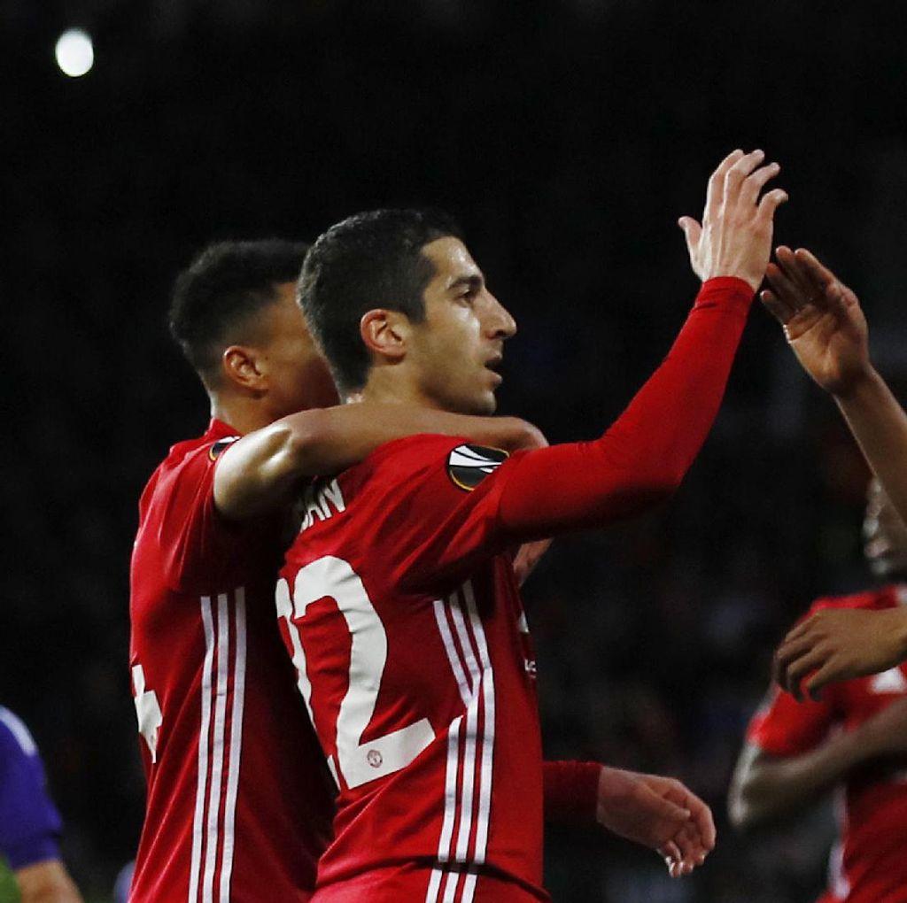 MU Lawan Anderlecht Sementara 1-1