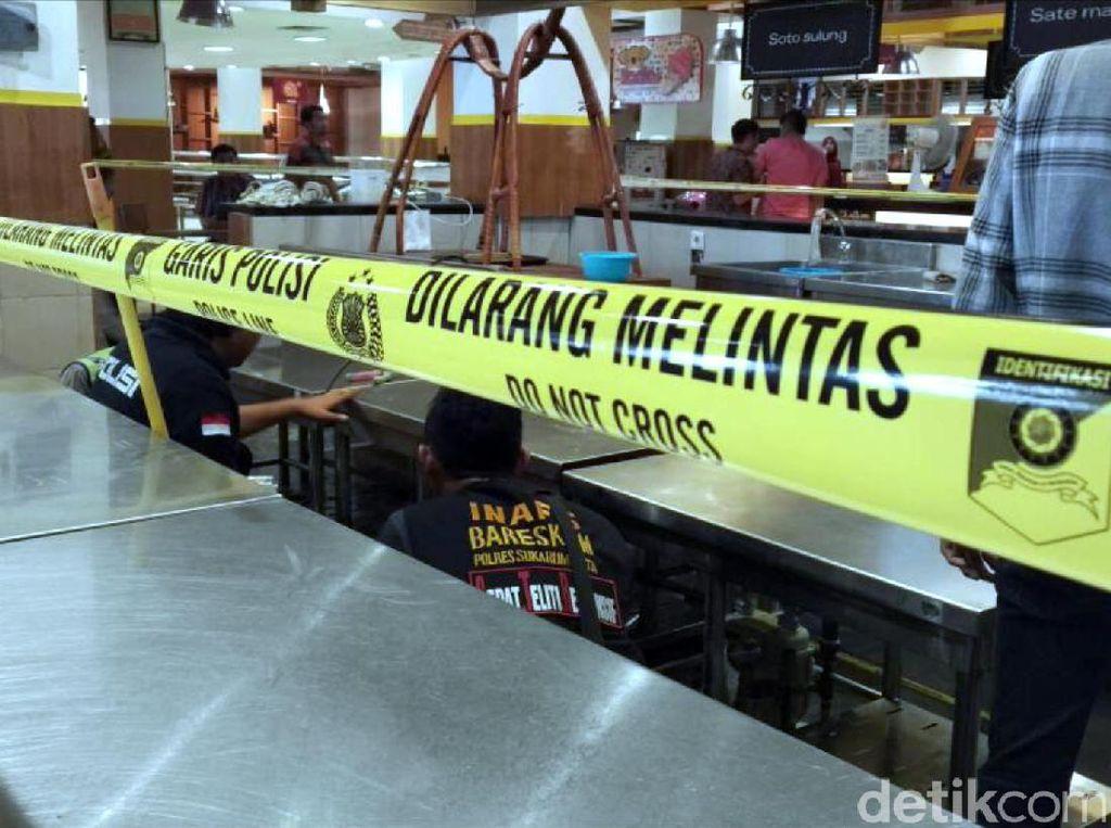 Tabung Gas Meledak di Food Court Yogya Sukabumi, 5 Orang Terluka