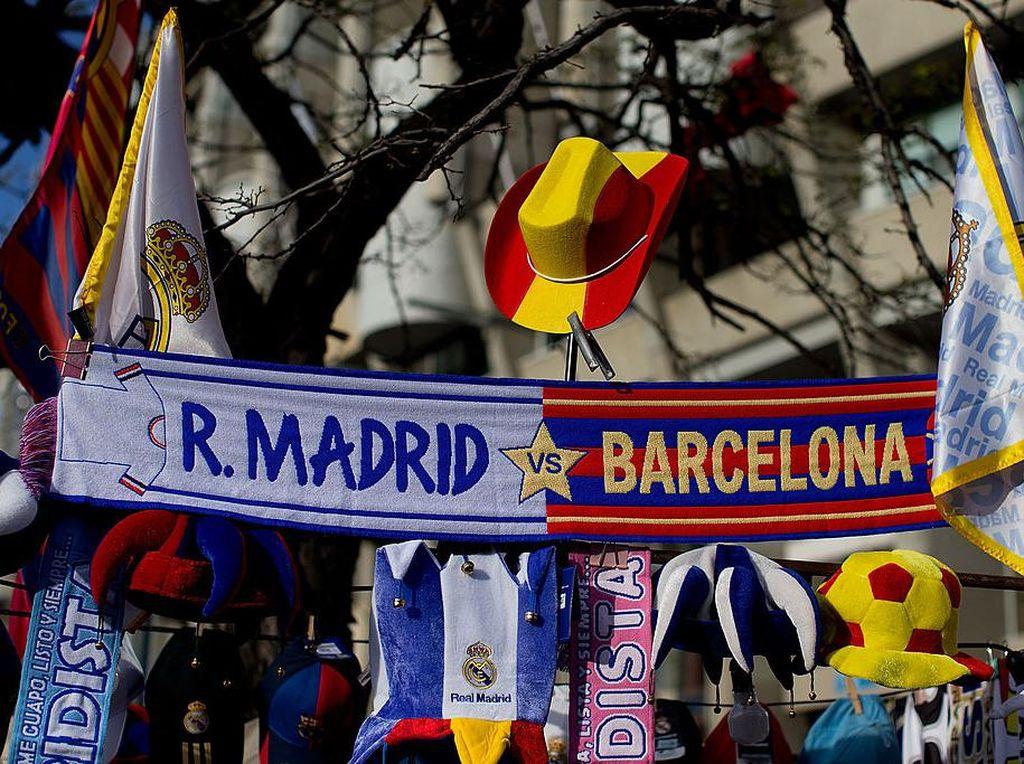 Bintang Barca-Real Madrid Kompak Gelap-gelapan Lawan Rasisme