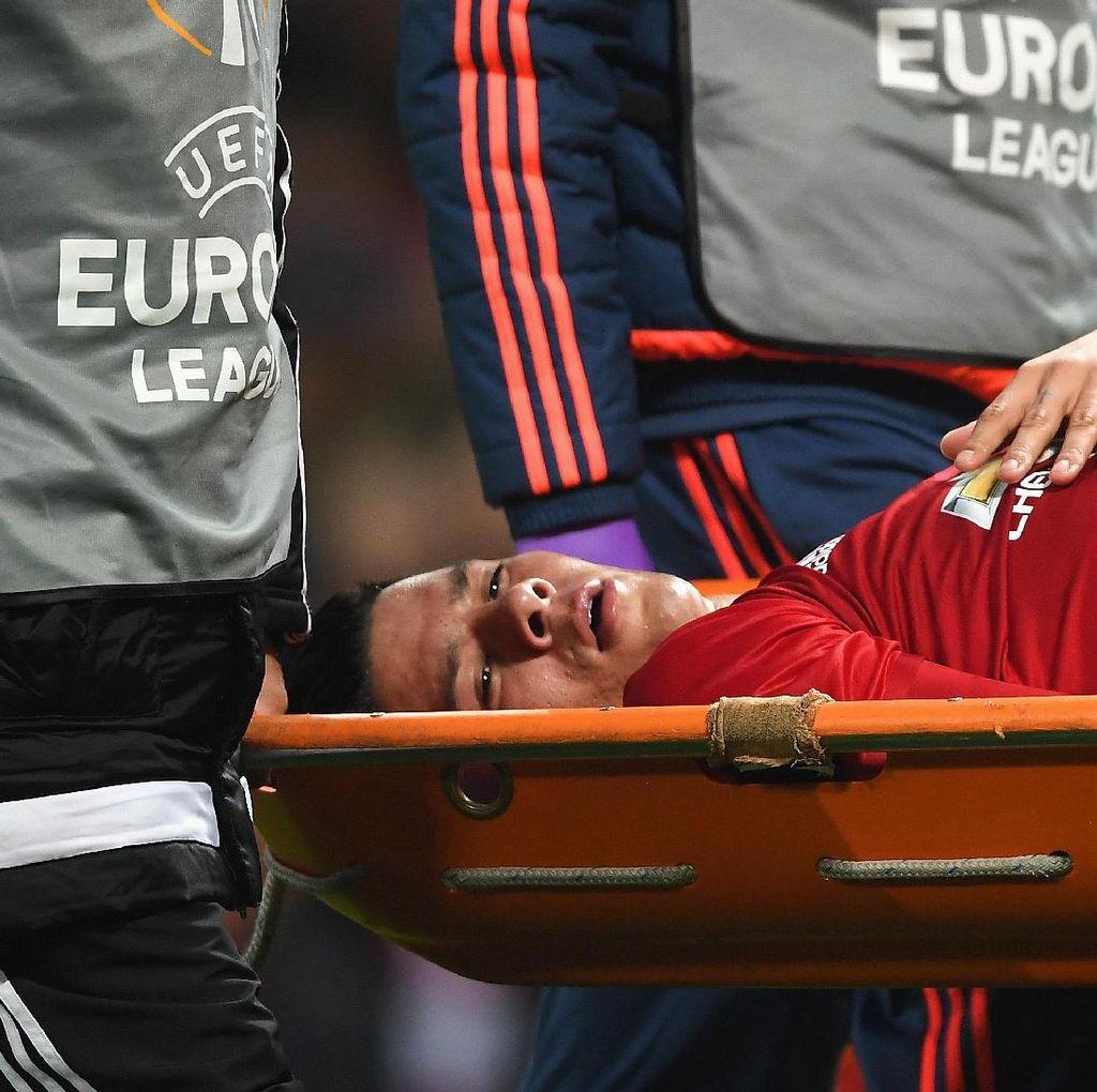 MU Tunggu Kabar Cedera Rojo dan Ibrahimovic