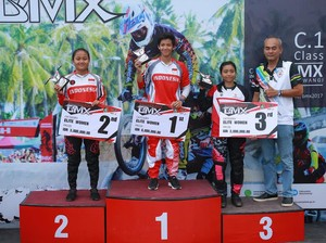 <i>Biker</i> Indonesia Juarai Elite Woman <i>Round</i> 1 Internasional BMX Banyuwangi