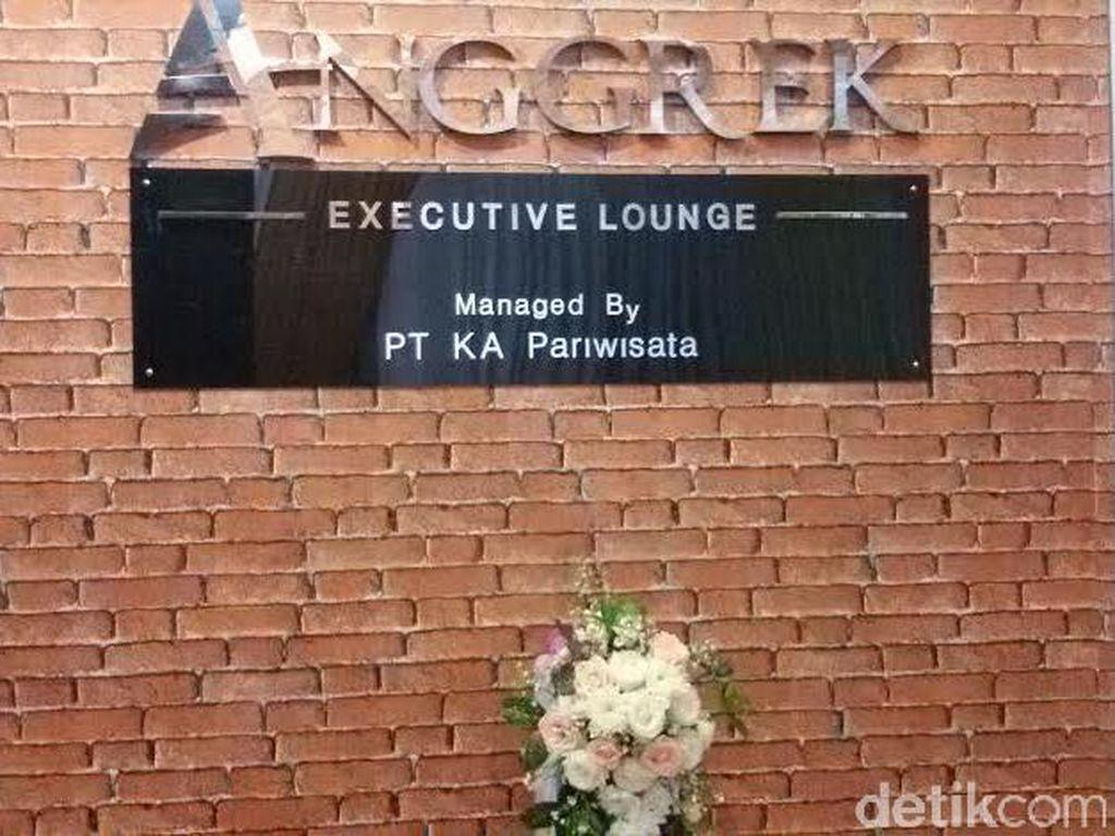 Stasiun Tugu Yogya Kini Punya Executive Lounge