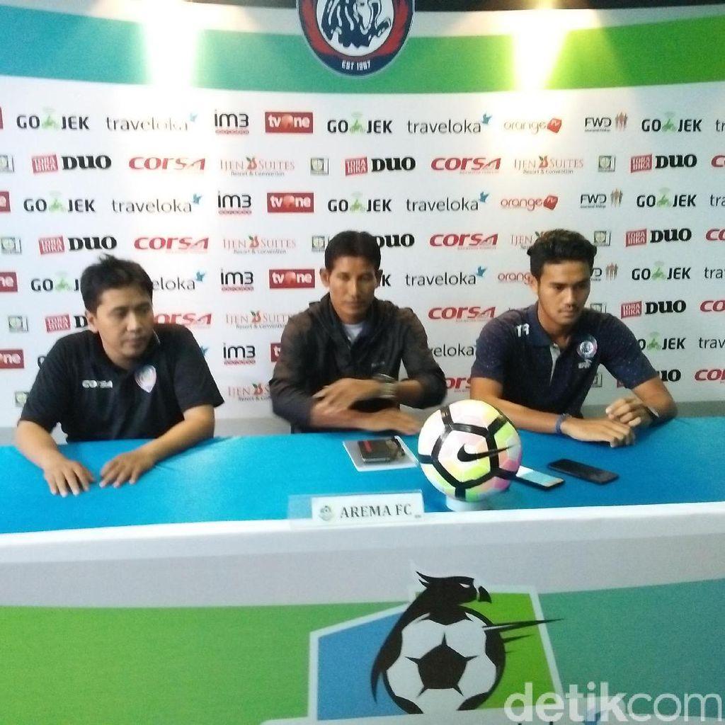 Gonzales Umroh, Ini Skenario Arema Saat Menjamu Bhayangkara FC