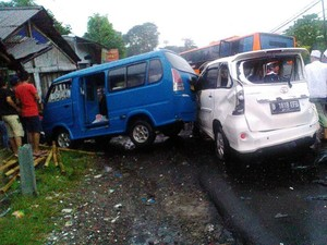 1 Korban Kecelakaan Maut Puncak Masih Dirawat di RSUD Ciawi