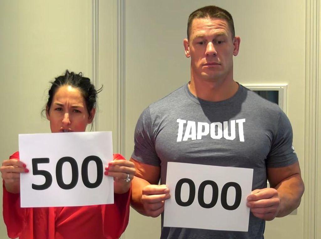 6 Tahun Bersama, John Cena-Nikki Bella Batalkan Pertunangan