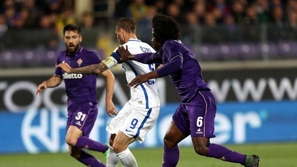 Drama Sembilan Gol di Artemio Franchi, Fiorentina Kalahkan Inter