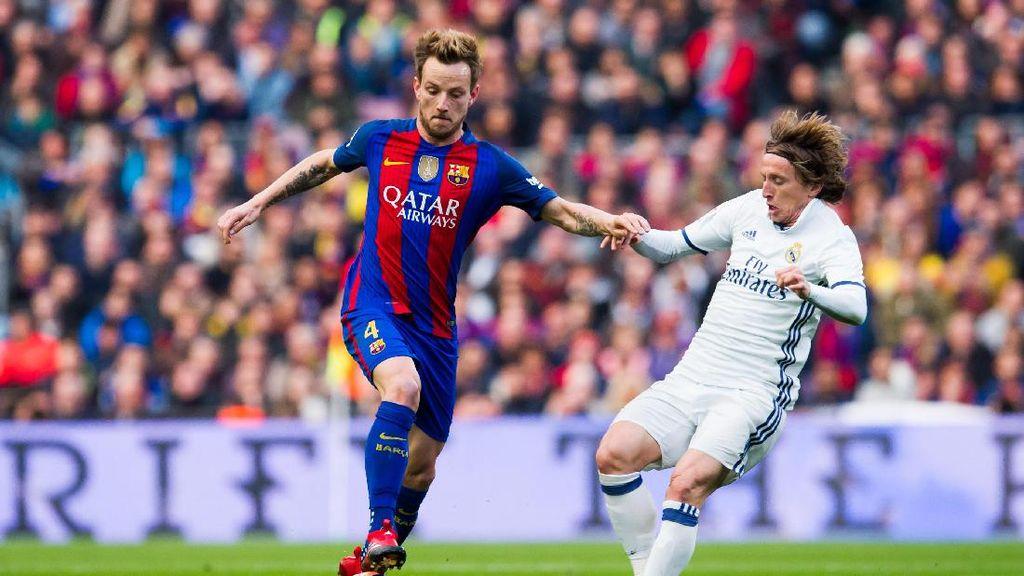 Modric dan Rakitic Diam-diaman Jelang El Clasico